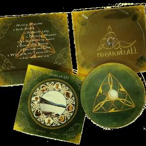 Bilder der CD: Cover, CD und offene CD