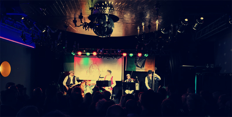 Mearbhall auf der Bühne